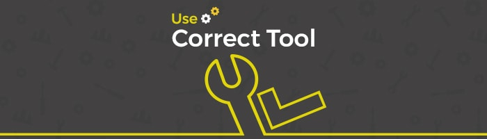 use correct tool for campaign