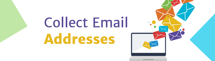 collect emails for conversion
