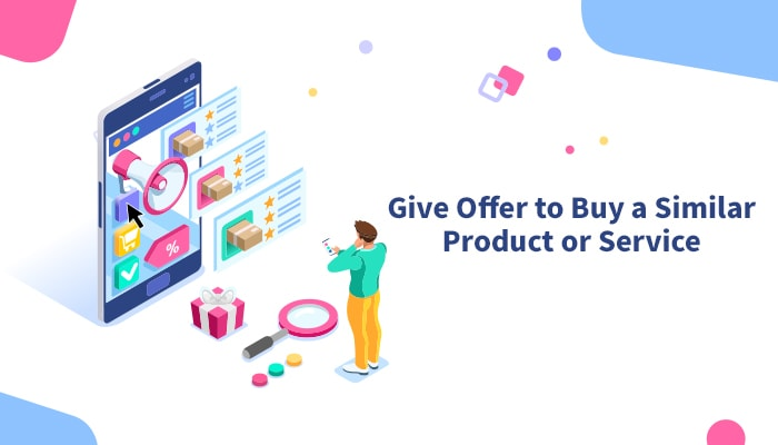 offer similar product on post conversion landing page