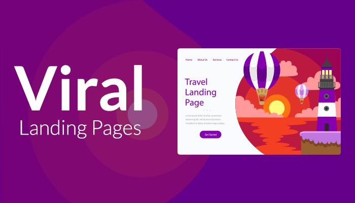 viral landing page
